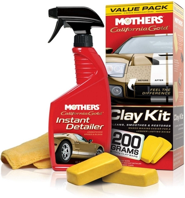 mothers clay bar kit review