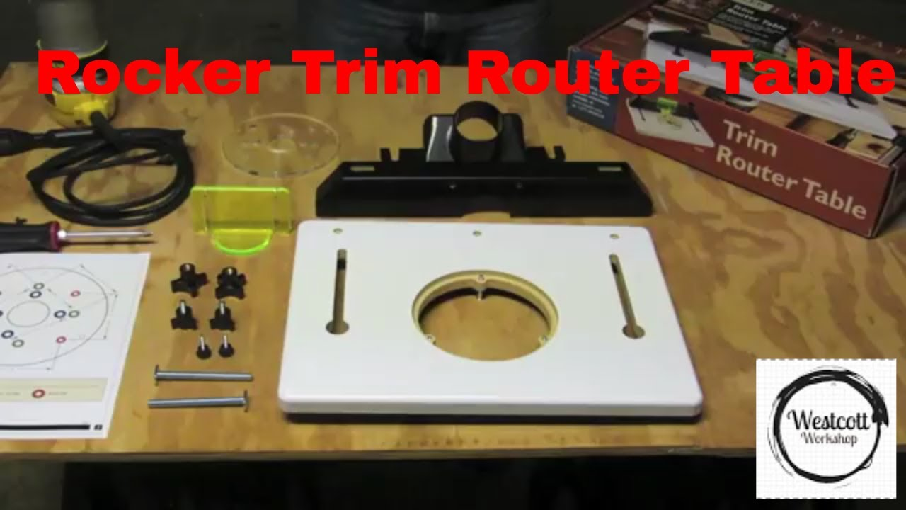 rockler trim router table review