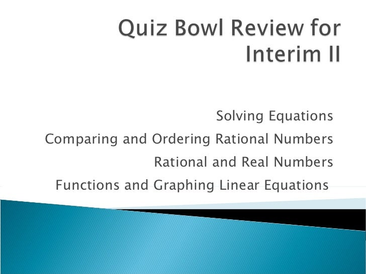 what is an interim review