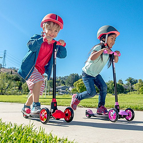 yvolution y glider deluxe scooter review