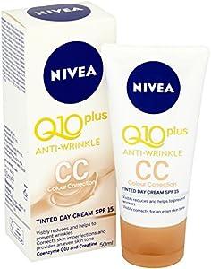 nivea visage q10 plus anti wrinkle tinted day cream reviews
