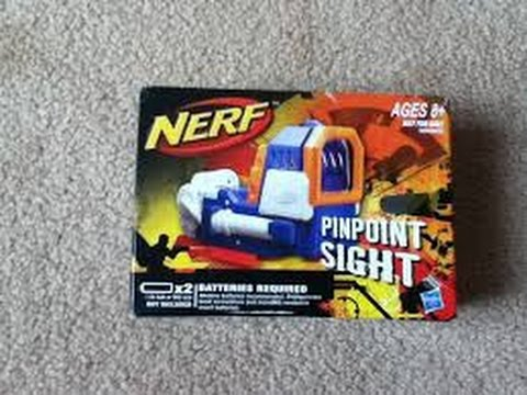 nerf red dot sight review