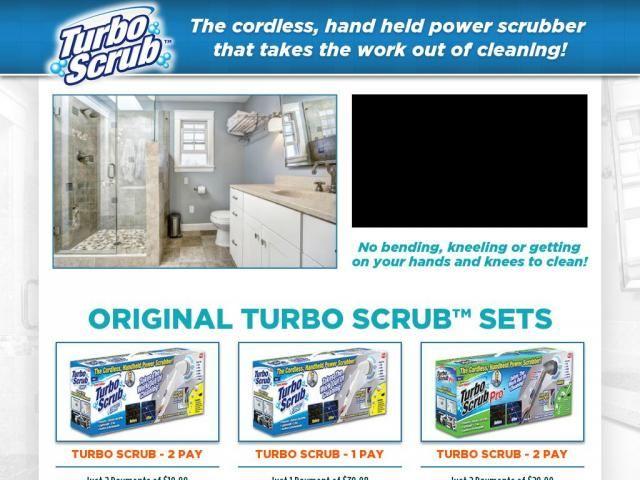turbo scrub reviews as seen on tv