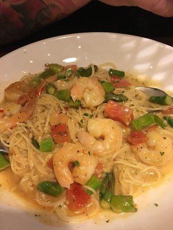 olive garden shrimp scampi review