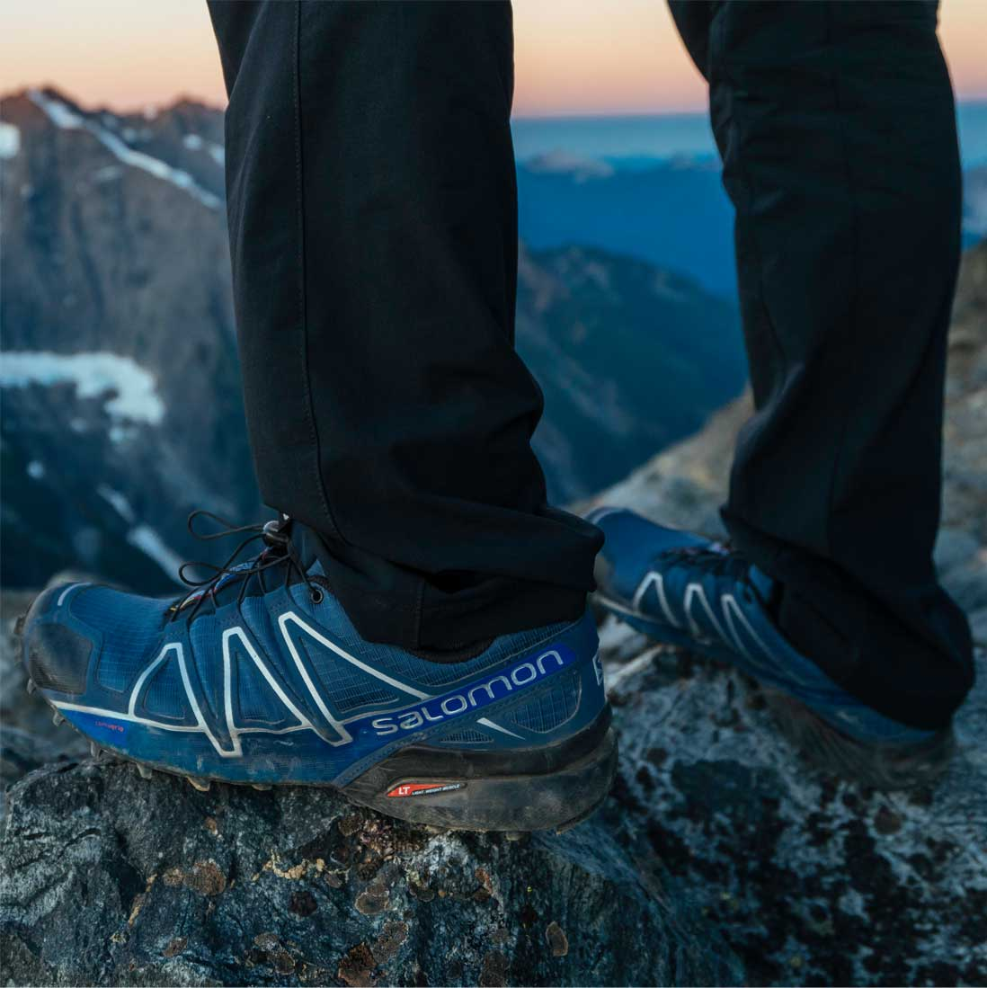 reviews salomon trail running shoes