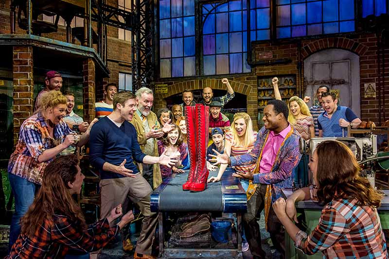 kinky boots london reviews 2017