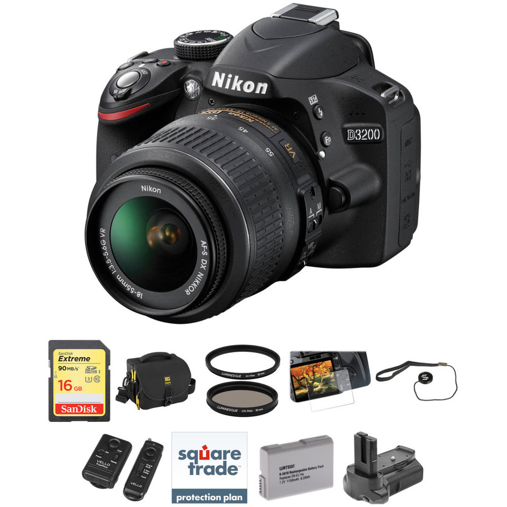 nikon d3200 with 18 55mm lens review