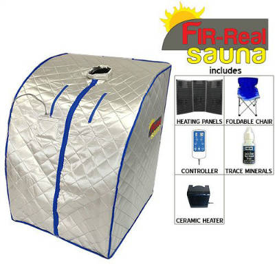 portable far infrared sauna reviews