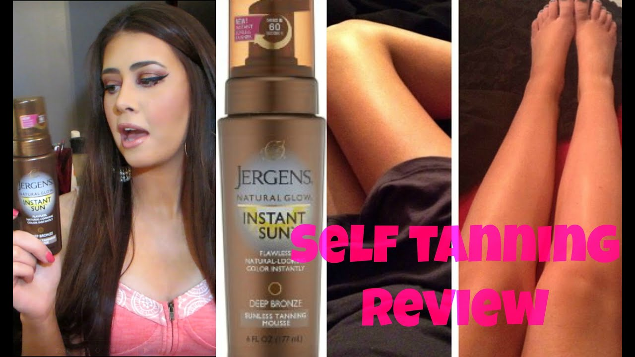 sally hansen instant tanning mousse review