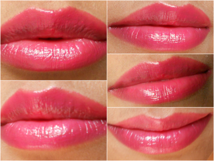 lancome vintage rose lipstick review
