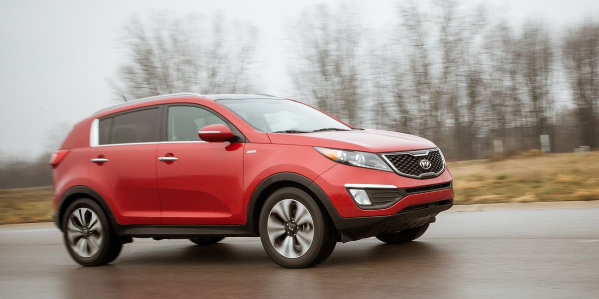 kia sportage 2.4 awd review