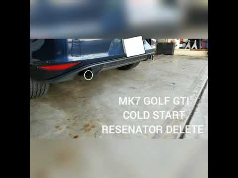 mk7 gti resonator delete review