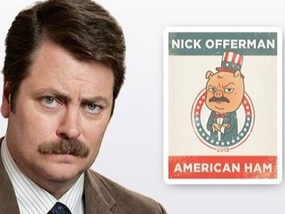 nick offerman american ham review