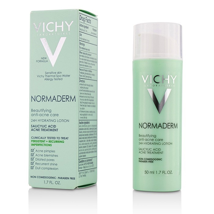 vichy normaderm anti blemish care 24h hydration review