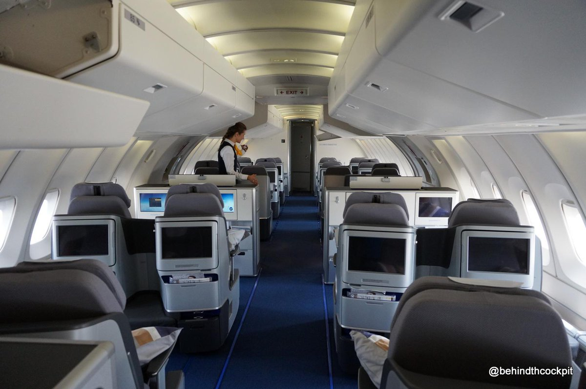 lufthansa boeing 747 400 business class review