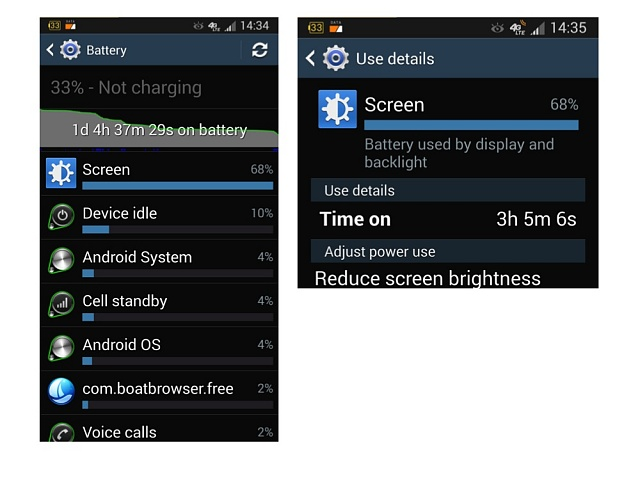 samsung s4 battery life review