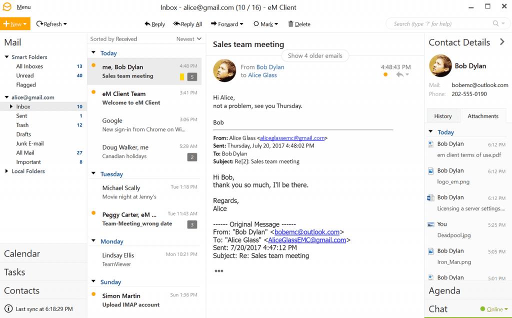windows live mail client review