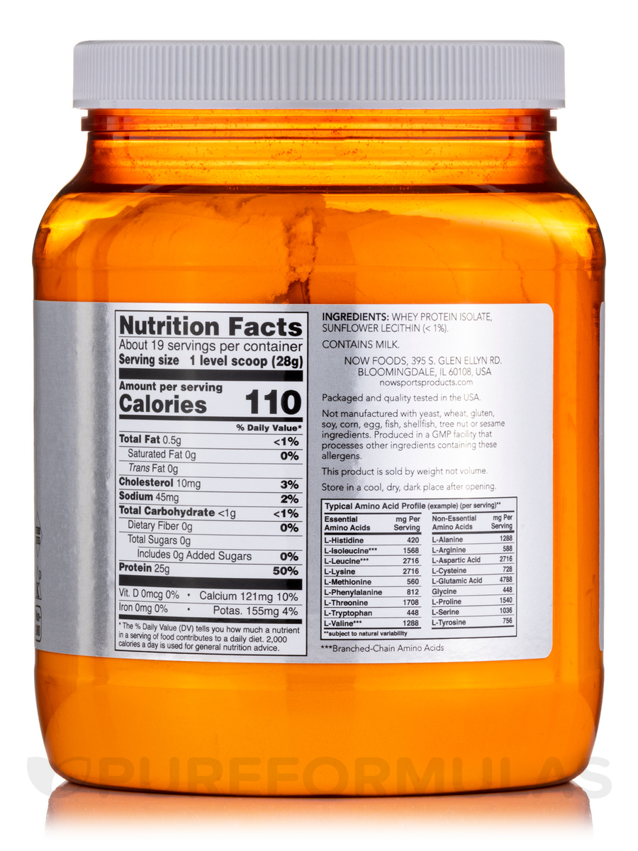now sports whey protein isolate review