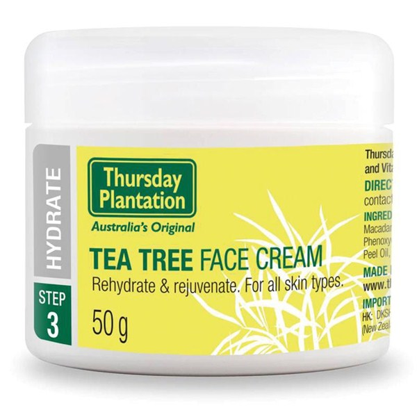 thursday plantation tea tree oil face cream review