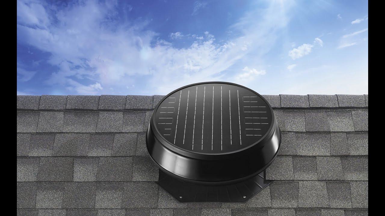 solar panel attic fan reviews