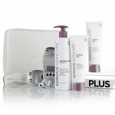serious skincare microcurrent plus facial toning system reviews