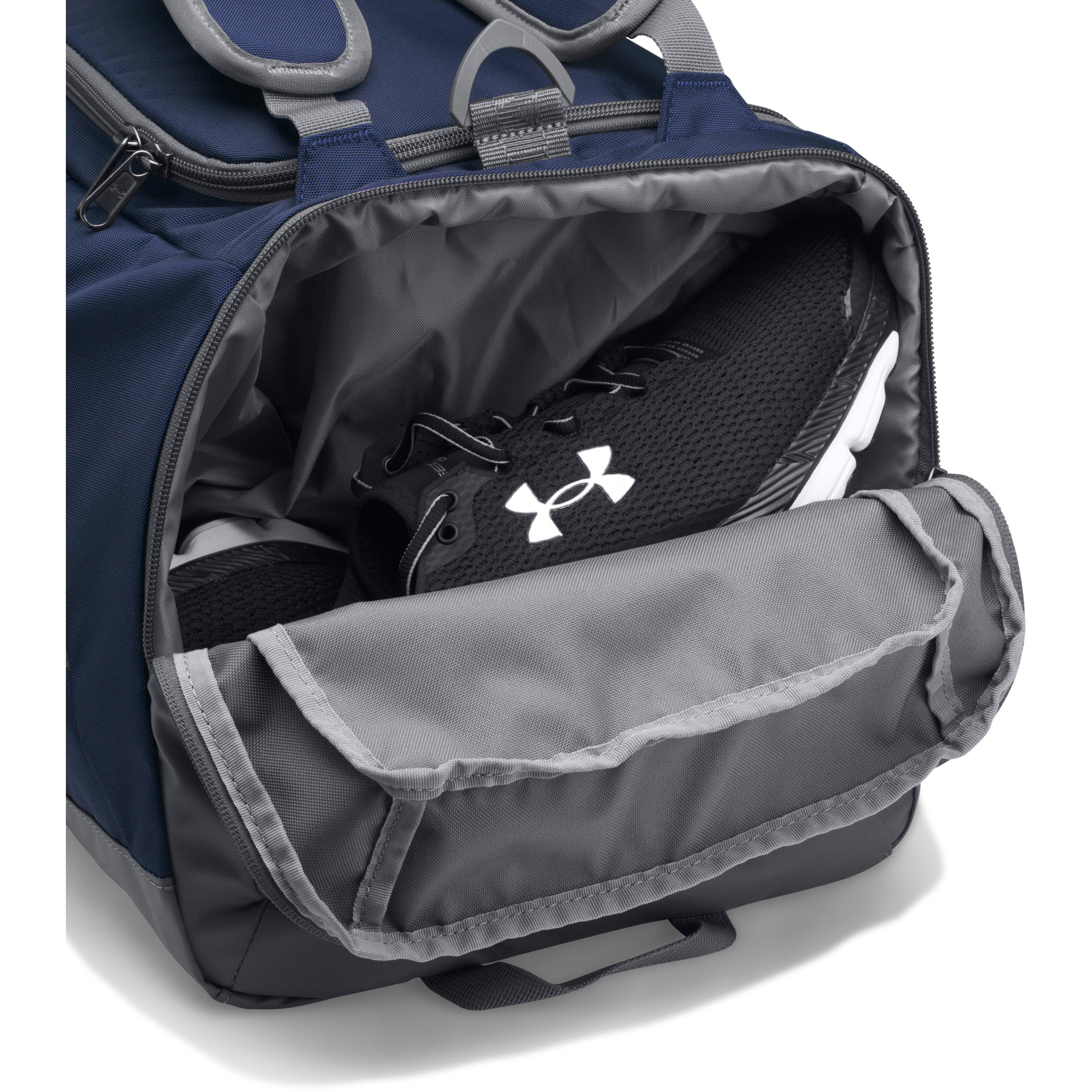 ua storm undeniable backpack duffle review
