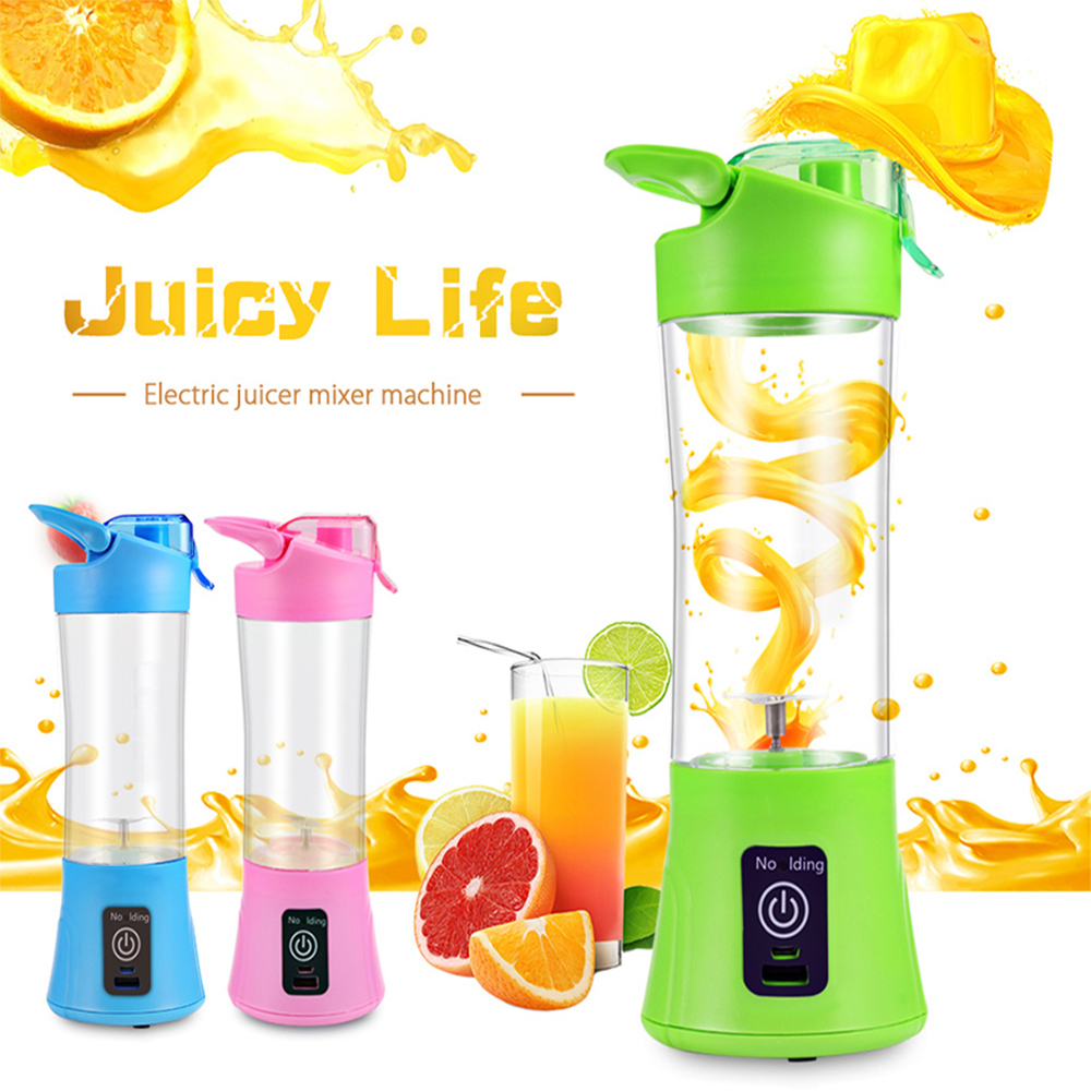 portable usb electric juicer bottle reviews