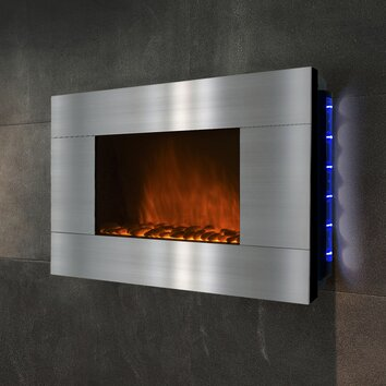 spectrafire electric wall mount fireplace reviews