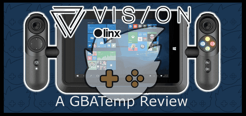 linx vision 8 gaming tablet review