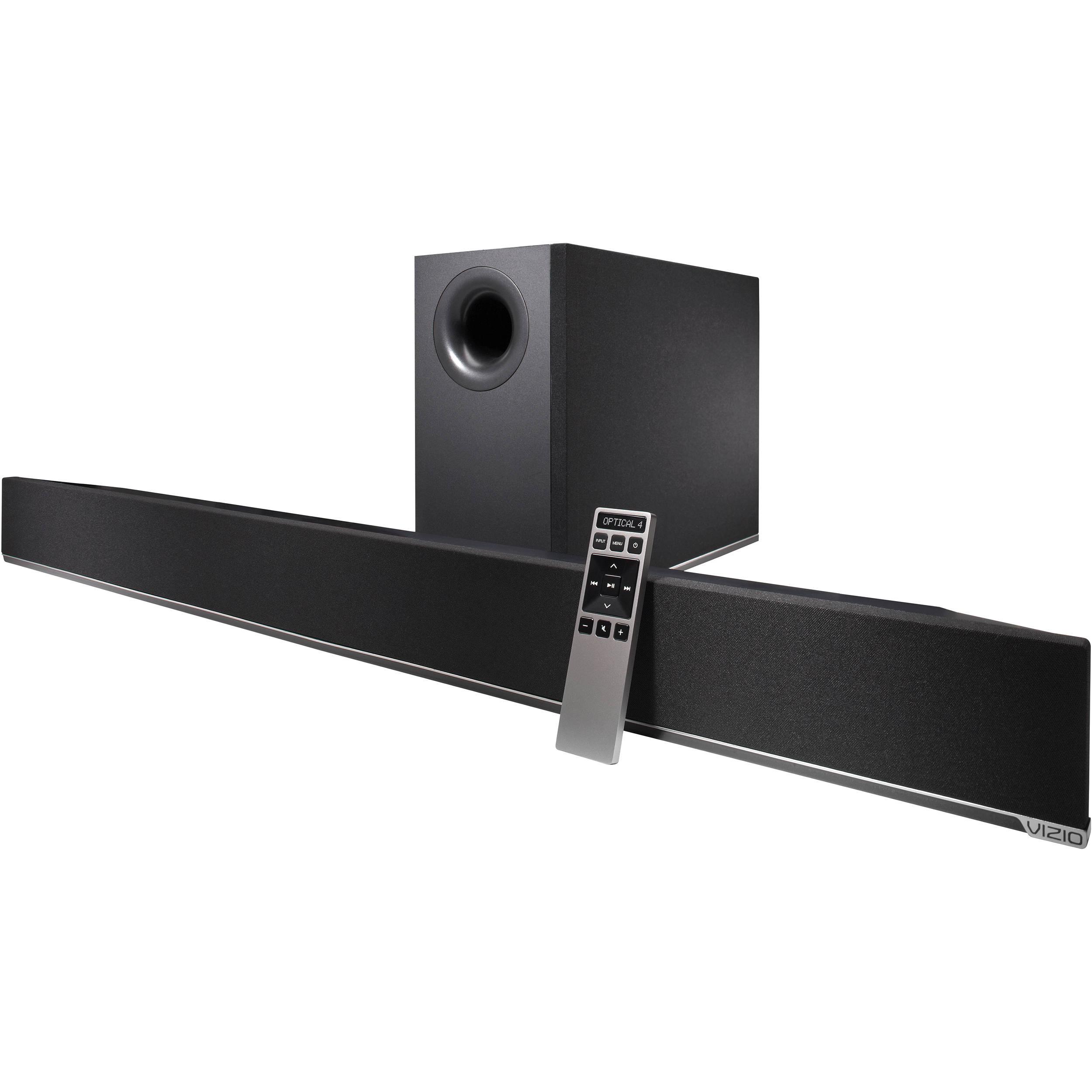 vizio 2.1 soundbar with wireless subwoofer review