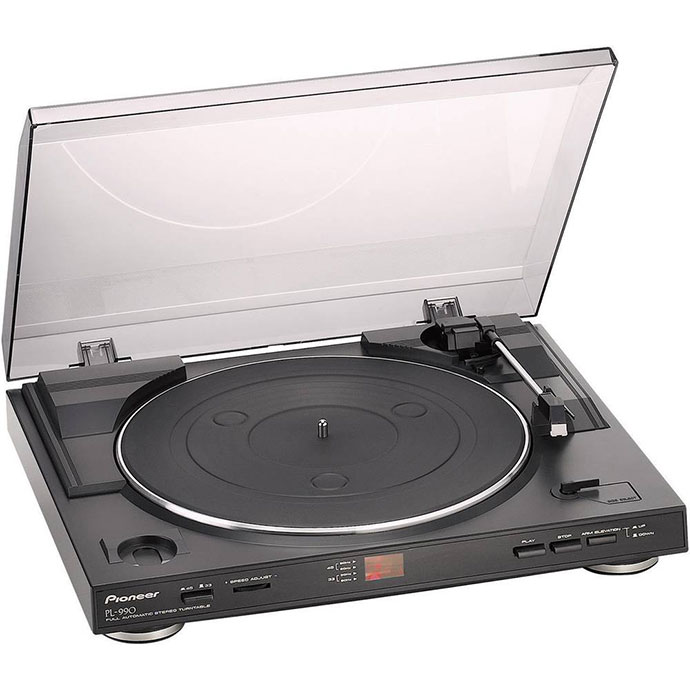 pioneer pl 990 fully automatic stereo turntable review