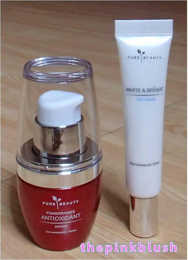 pure beauty white and bright serum review