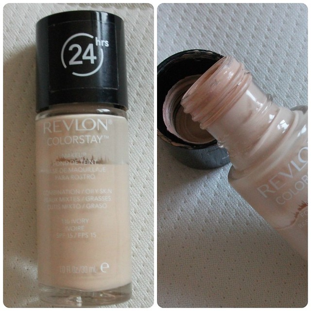 revlon colorstay foundation ivory review