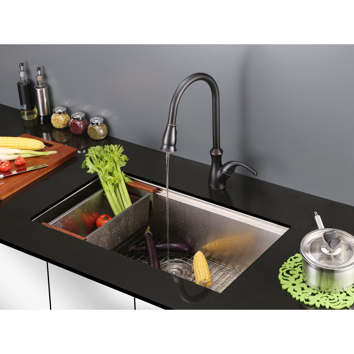 pull out spray kitchen faucet reviews