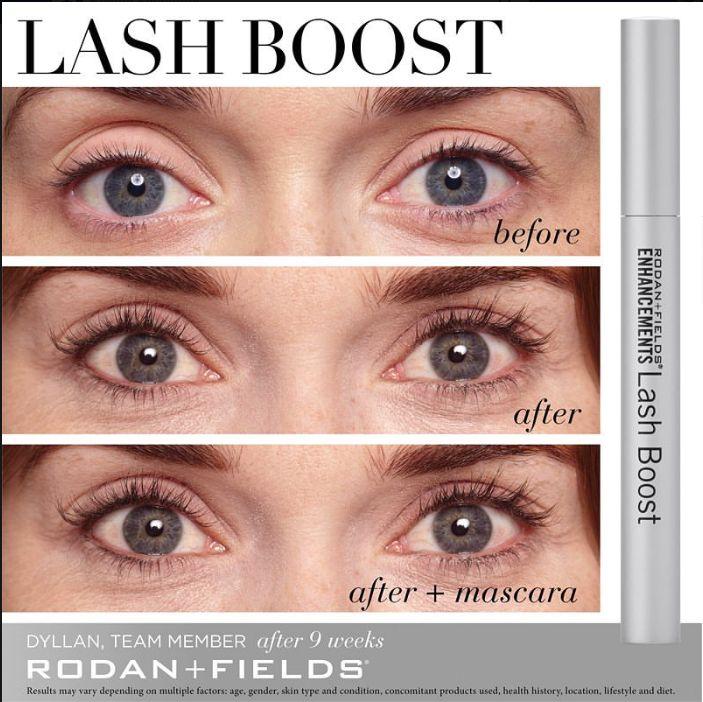 rodan and fields eyelash booster reviews
