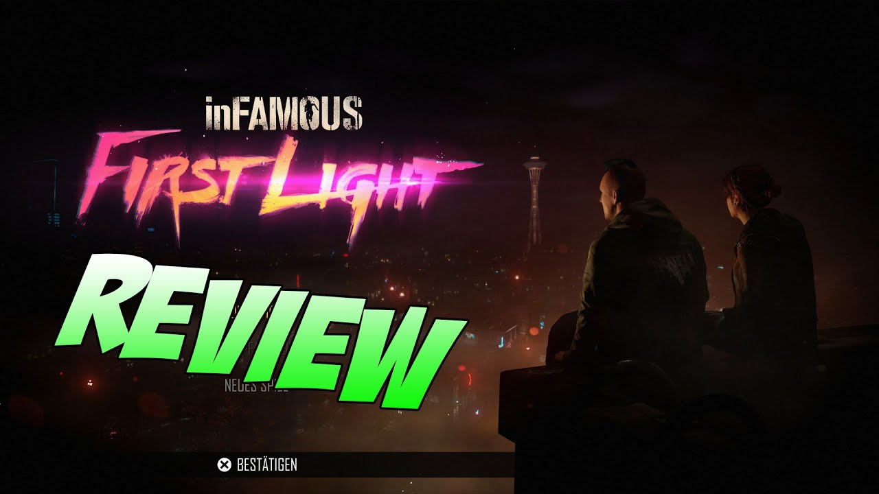 infamous first light ps4 review