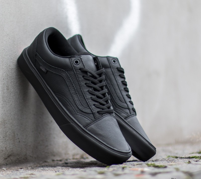 vans old skool leather review