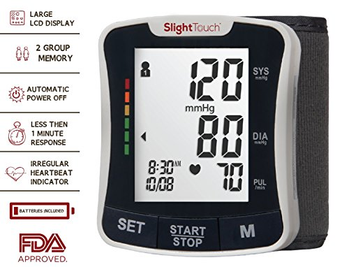 wrist blood pressure monitor reviews 2017