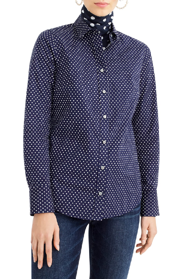 j crew stretch perfect shirt review