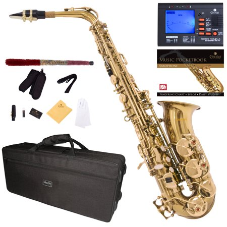 mendini by cecilio brass alto saxophone reviews