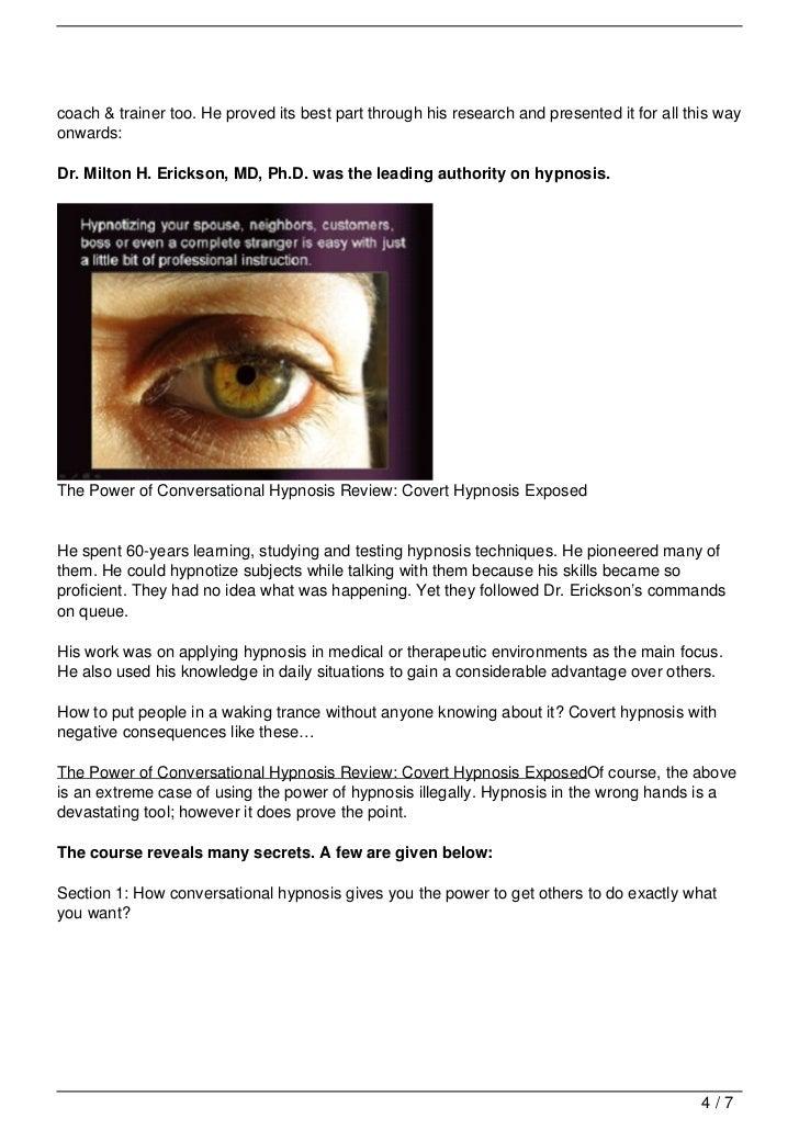 igor ledochowski conversational hypnosis review