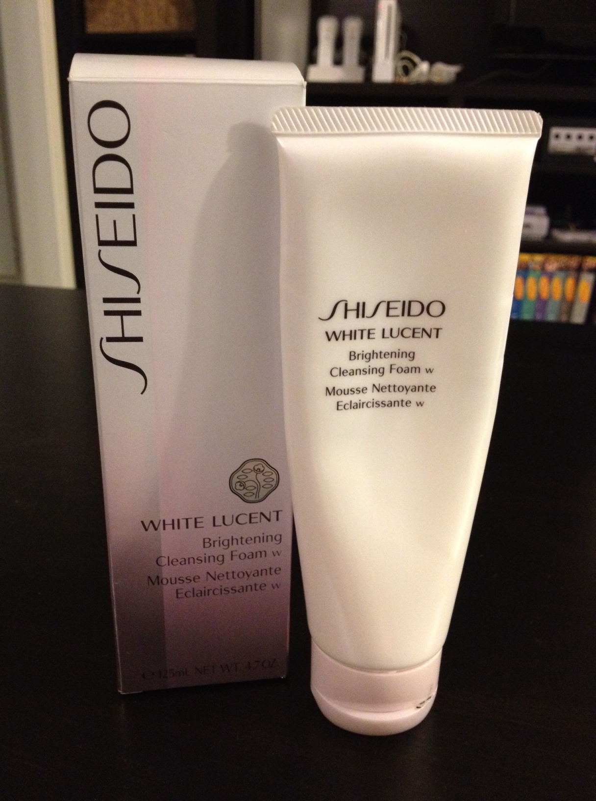 shiseido brightening cleansing foam review