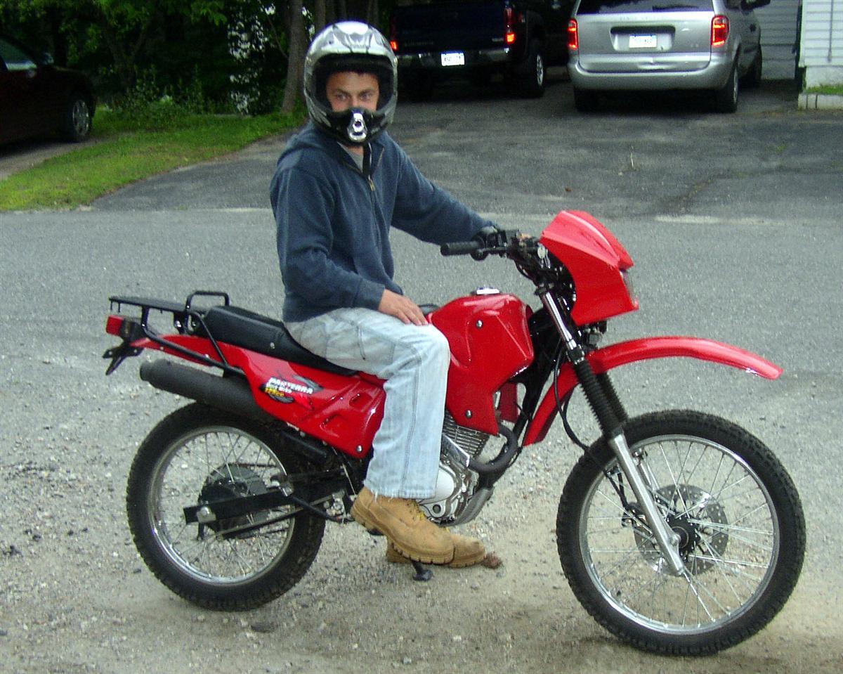 panterra dirt bike 125cc review