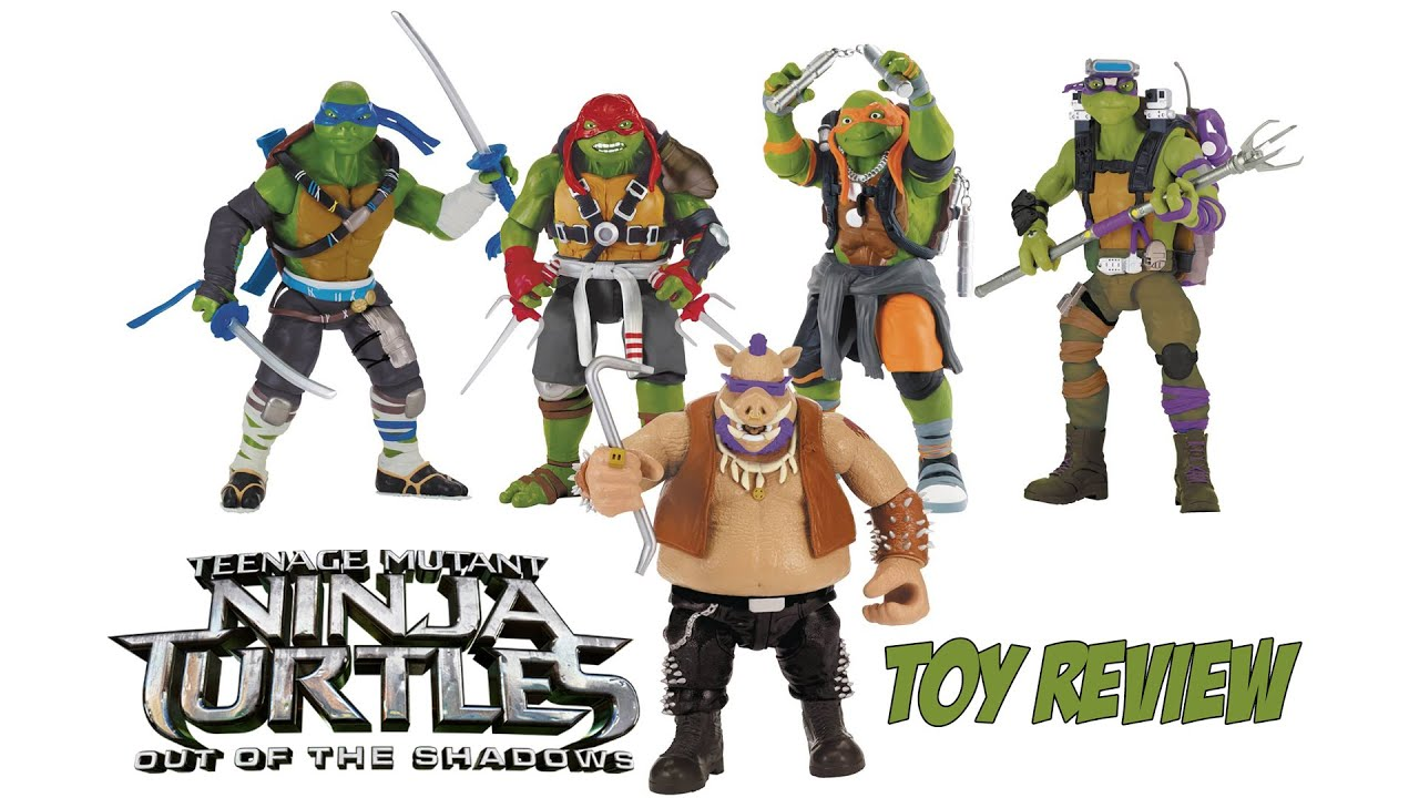tmnt out of the shadows review