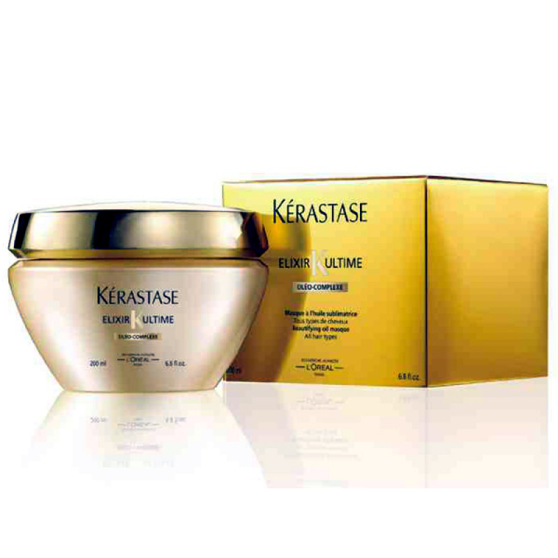 kerastase elixir ultime beautifying oil masque review