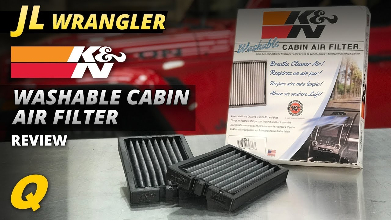 k an n air filter review