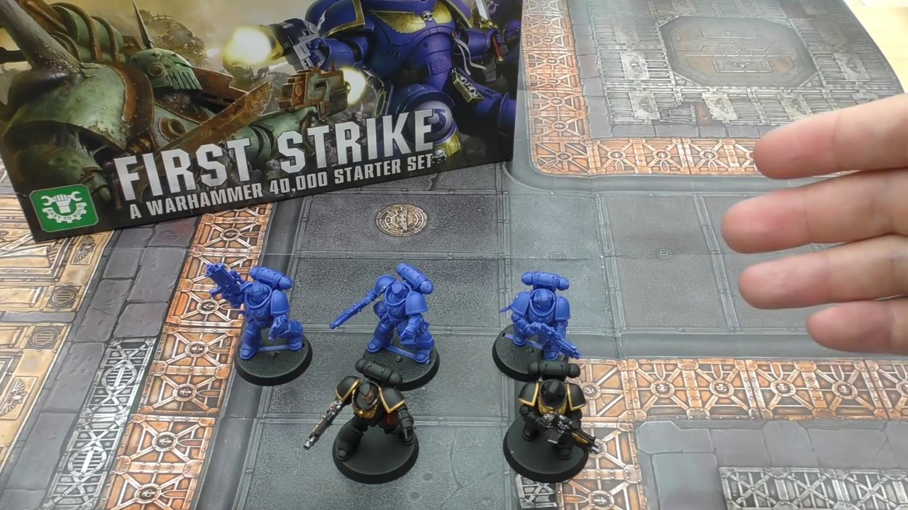 warhammer 40k first strike review