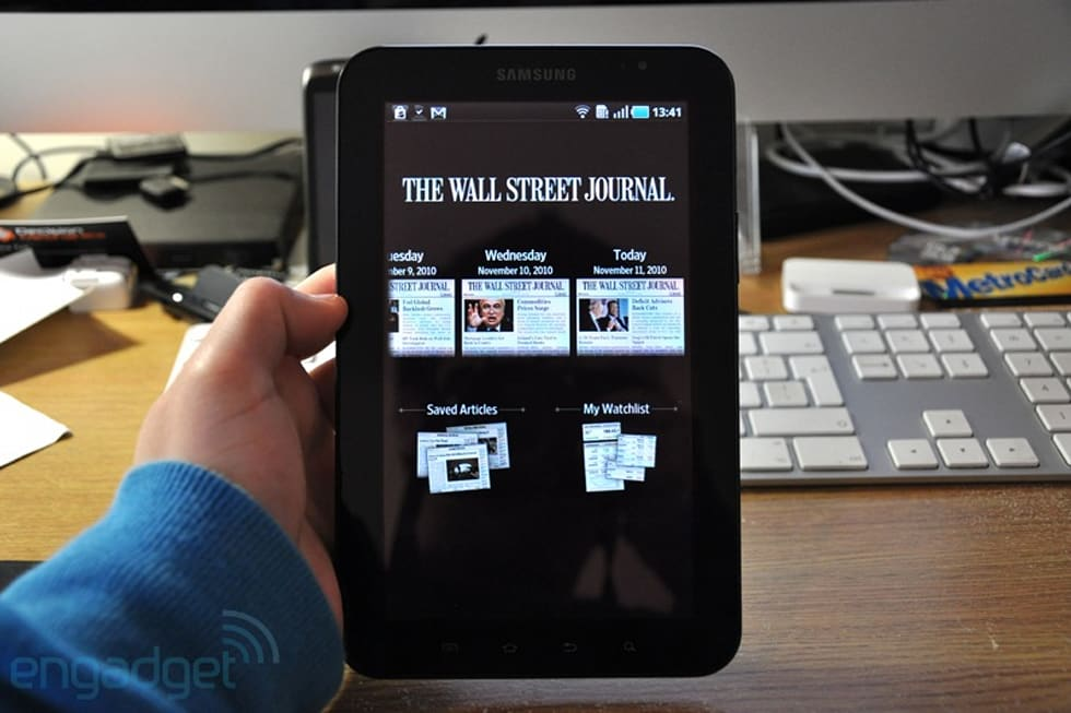 wall street journal app review