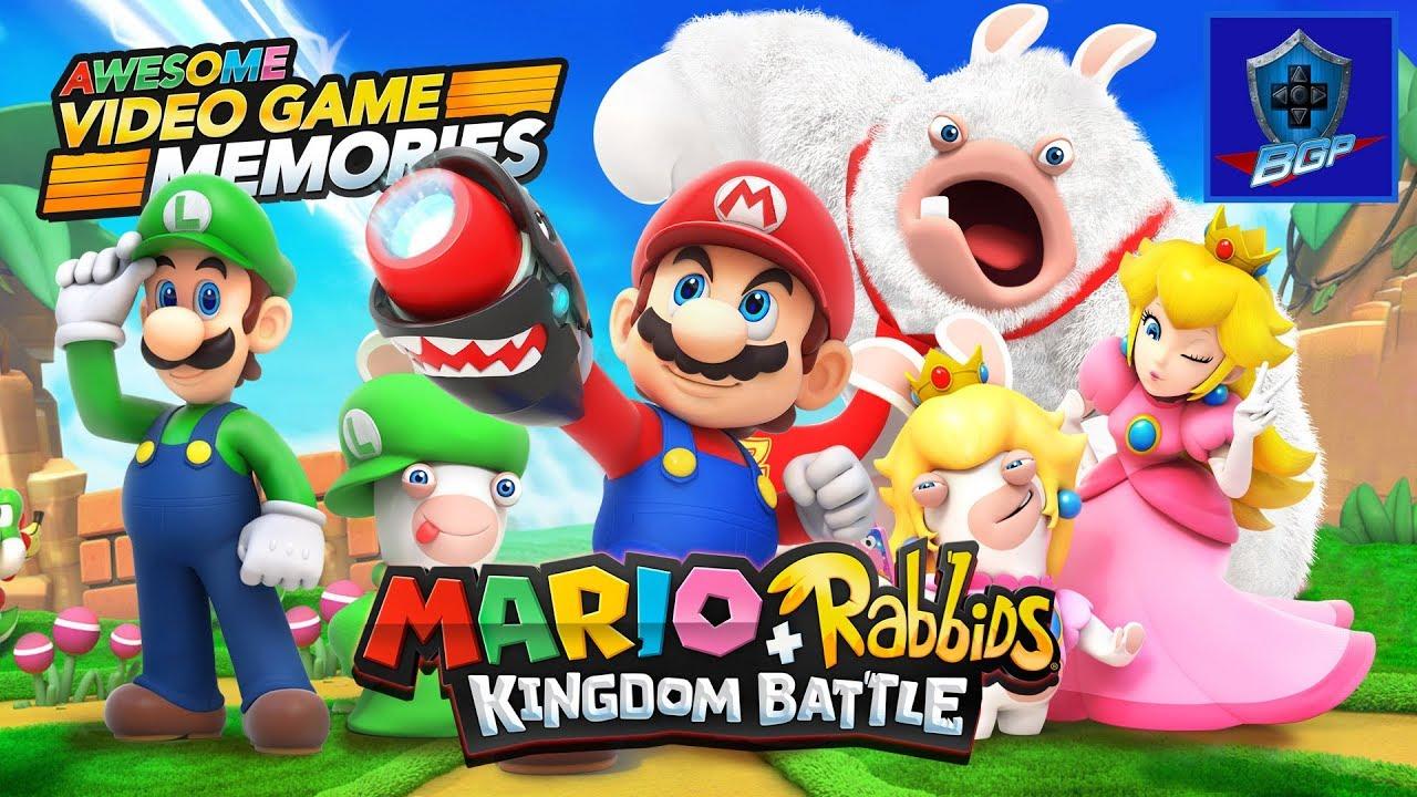 mario rabbids kingdom battle nintendo switch review
