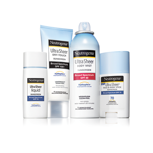 neutrogena ultra sheer dry touch sunscreen spf 55 review